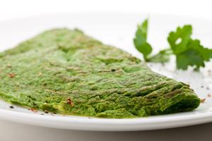 Groene omelet